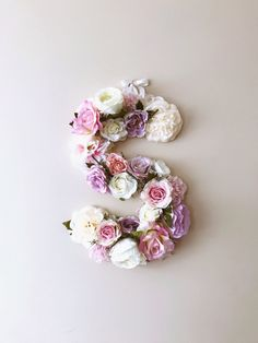 Large Flower Letters, Wall letter, Wedding letters, Personalized wall art, Baby shower gift, Artificial silk flower letters, Photo prop