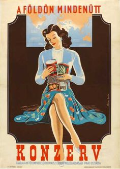 Budapest Poster Gallery is based in Budapest, Hungary, dealing in all kinds of original vintage posters and ephemera, offering worldwide shipping. Vintage Advertisements, Vintage Ads, Posters Vintage, Retro Posters, Restaurant Pictures, Italian Posters, Socialist Realism, Geometric Poster, Illustrations And Posters