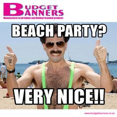 The festive season may be over, but it's still Summer! Go hit the beach this weekend, it's going to be great!