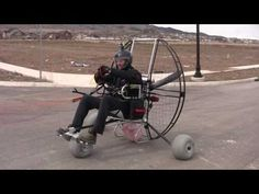 Paramotoring The Flat Top Air Trike!!! The NEW Powered Paragliding 25 lb Paramotor Gear! - YouTube