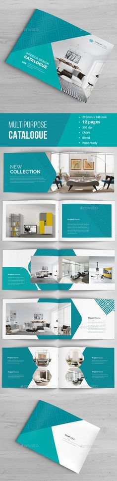 A4\Letter Portrait Architecture Brochure Template Brochure - architecture brochure template