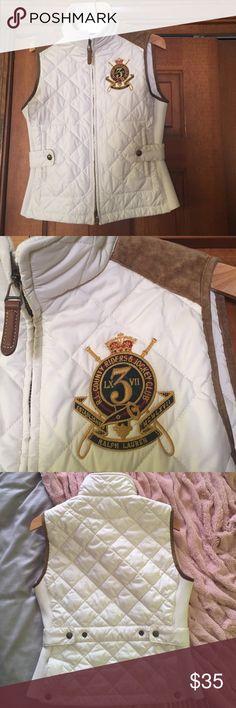 Ralph Lauren women's small vest Gently used Ralph Lauren fall vest. Great condition. Ralph Lauren Jackets & Coats Vests