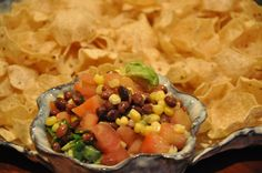 Elizabeth Ann's Recipe Box: Black Bean Salsa