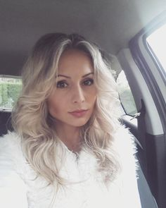 #selfiesrelfie#today#white#outfit#blondies#hairstyle#fashion#natural#makeup#rainyday#incar#onroad#work White Outfits, Blondies, Natural Makeup, Hairstyle, Long Hair Styles, Beauty, Fashion, White Stuff Clothing, Natural Make Up