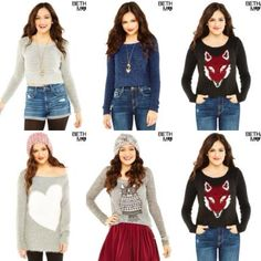 All these outfits are just... <3! ;)