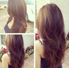 Choppy Layers Long Hair