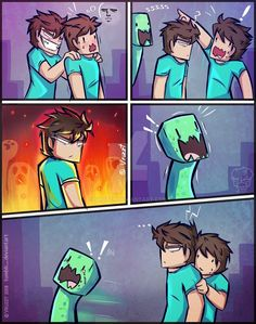 Humor Discover Creeper sjnsns by Vruzzt - Minecraft World Humor Minecraft Minecraft Comics Minecraft Fan Art Minecraft Mobs Minecraft Blueprints Minecraft Crafts Minecraft Creations Minecraft Wallpaper Minecraft Drawings