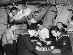Off duty Polish sailors  WW2