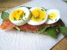 Stacey Snacks: What's for Lunch? Smoked Salmon & Egg Tartine