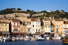 Cassis, France. One of the most beautiful villages in Provence.
