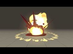 VFX Test - Cartoony Explosion - YouTube