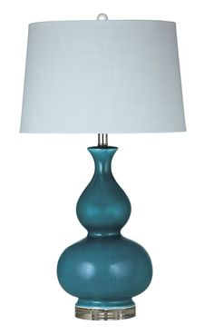 "Elsa 32"" H Table Lamp with Empire Shade"