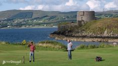 Otway Golf Club Donegal - situated north of Rathmullan village on the shores of Lough Swilly. Donegal, Golf Clubs, Golf Courses