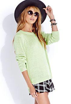 Favorite Cozy Sweater in Cream or Black FOREVER21 $10.80