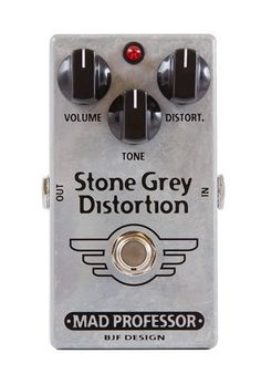 Mad Professor Stone Grey Distortion Effect Pedal