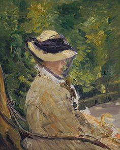 Madame Manet (née Suzanne Leenhoff, 1830–1906) at Bellevue, 1880  Édouard Manet (French, 1832–1883)  The Metropolitan Museum of Art
