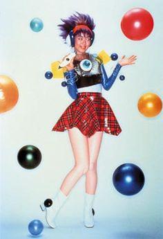 Moriko MoRi. Birth of a star, 1995, Duratran, acrylic, light box and audio CD