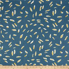 Dwell Studio Lynx Geo Peacock from @fabricdotcom  Screen printed on cotton duck, this versatile medium/heavyweight fabric is perfect for window accents (draperies, valances, curtains and swags), accent pillows, bed skirts, duvet covers, slipcovers , upholstery and other home decor accents. Create handbags, tote bags, aprons and more. This fabric has 65,000 double rubs. Colors include steely blue, cream, and mustard.