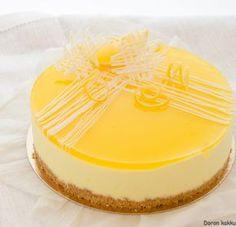 sitruunamoussekakku Sweet Recipes, Cake Recipes, Dessert Recipes, Food Tasting, Something Sweet, Tasty Dishes, No Cook Meals, No Bake Cake, Beautiful Cakes