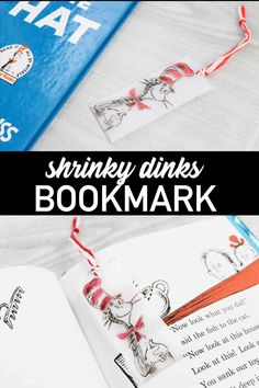 Designs Discover Shrinky Dinks Bookmark Make a fun Dr. Seuss bookmark with shrinky dinks and this easy project! the kids will love making this one! Diy Home Crafts, Diy Crafts To Sell, Diy For Teens, Diy Crafts For Kids, Bookmarks Diy Kids, Dr Seuss Crafts, Shrinky Dinks, Cool Diy Projects, Art Projects