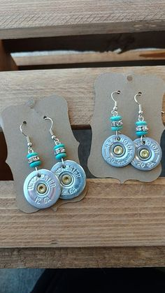 Shotgun shell jewelry-bullet jewelry-country cutie boutique-country girl-jewelry-huntress-girls that hunt-country girls-hunting-hunt like a girl-turquoise jewelry-stagecoach Bullet Shell Jewelry, Shotgun Shell Jewelry, Bullet Casing Jewelry, Ammo Jewelry, Silverware Jewelry, Copper Jewelry, Jewelry Crafts, Beaded Jewelry, Turquoise Jewelry