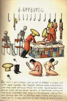 Codex Seraphinianus é uma enciclopédia sobre um mundo imaginário com um texto indecifrável com mais de mil desenhos feitos pelo artista e arquiteto italiano Luigi Serafini entre 1976 e 1978.