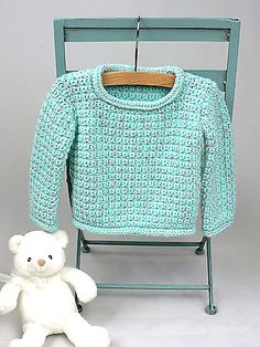 Baby Pullover-free pattern by Kim Guzman