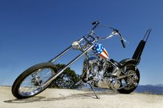The last known remaining customized Harley-Davidson chopper ridden by Peter Fonda in Easy Rider is going up for auction on October 18.