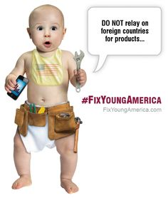 DO NOT relay on foreign countries for products... - #FixYoungAmerica