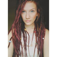 Like the different sizes of dreads