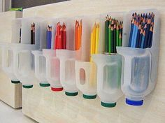 Crafty recycled containers