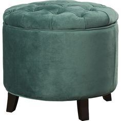 Found it at Joss & Main - Erik Velvet Storage Ottoman