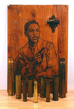 You're My Thrill by Whitfield Lovell a contemporary African-American artist who is known primarily for his drawings of African-American individuals from the first half of the twentieth century. Wikipedia
