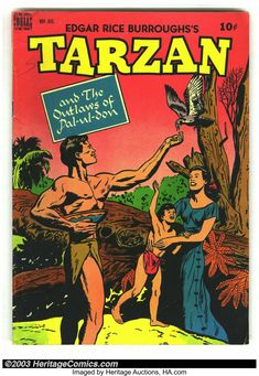 Tarzan, Children's Comics, Vintage Magazines, Art Studies, Disney S, Cartoon Characters, Fantasy Art, Comic Books, Adventure