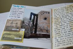 In case you are interested, here are a few pages from my Budapest Travel journal. As you can see, I used a journal my sister made as a sample in her Full Tilt Boogie class. Travel Journals, Art Journals, Budapest Travel, Tall Tales, Write It Down, Journal Ideas, Kansas, Travelling, Journaling
