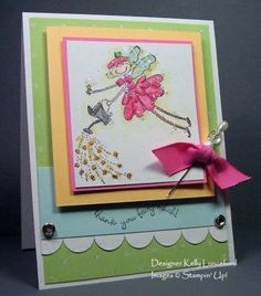 Stampin Up Fairy Nice - thank you fairy much