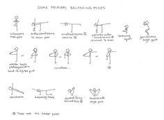 balancingposes Bikram Yoga, Iyengar Yoga, Ashtanga Yoga, Yoga Sequences, Yoga Poses, Yoga Stick Figures, Pilates, Office Yoga, Indian Yoga