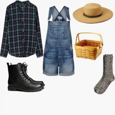 Last Minute DIY Farmer Halloween Costume