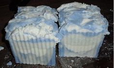 Cold Process - Ocean Rain Salted Soap Bars Recipe