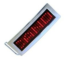 LED Belt Buckle Programmable Scrolling Display Message Vintage Belt Buckles, Computer Accessories, Party Supplies, Consumer Electronics, Messages, Display, Led, Floor Space, Billboard