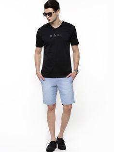 f2009e97bc4ae RARE RABBIT Casual T-Shirt - Buy Men's Tee Shirts online in India   KOOVS