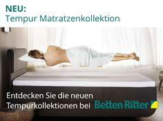 Entdecken Sie die neuen Tempurkollektionen bei Betten Ritter  Mehr erfahren: http://www.bettenritter.com/themenwelten/tempur/#emotion--4