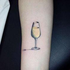 f really cheap ing cheap glass of wine tattoo best friend tattoos beer best tattoo ideas looking to get … Girl Back Tattoos, Back Tattoo Women, Tattoos For Women, Wine Tattoo, Bottle Tattoo, Lower Back Tattoo Designs, Lower Back Tattoos, Best Friend Tattoos, Sister Tattoos