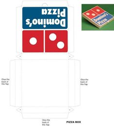 my froggy stuff printables pizza box - Google Search | giang huong ...