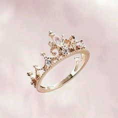 Princess ring- I think this would be cute a dad to give to his daughter. Tell her she will always be his princess. Totally remembering that one for Kippy