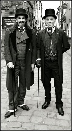 Two Gentlemen of Whitby | Whitby Goth Weekend, April 2015 | Flickr - Photo Sharing!