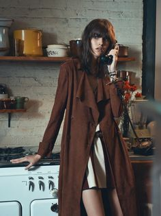 editorial from Vogue Paris ( february), styled by Geraldine Saglio. An ode to the 70's! …