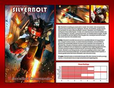 Silverbolt by CitizenPayne on DeviantArt