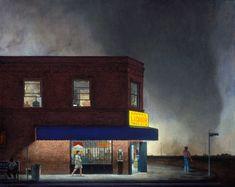 A selection ofominous paintings by artist John Brosio. More images below.                    John Brosio's Website