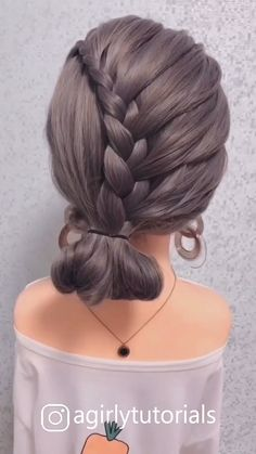 11 Most Popular Step By Step Hairstyle Tutorials Part 4 - Haare Stylen Step By Step Hairstyles, Easy Hairstyles For Long Hair, Party Hairstyles, Cute Hairstyles, Braided Hairstyles, Wedding Hairstyles, School Hairstyles, Long Hair Dos, Hairstyle Man